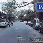 Video: Child Narrowly Avoids Being Run Over by Bus