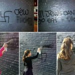Hatzalah Garage Defaced with Swastikas and Hate Messages