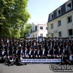 Brunoy Graduates Pose for Group Portrait