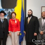 Shluchim Discuss Anti-Semitism with EU Commissioner