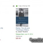 Biography of the Rebbe Hits Amazon's Top 100