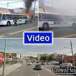 Video: City Bus Catches Fire on Utica Ave.