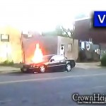 Video: Car Bursts into Flames on East New York Ave.