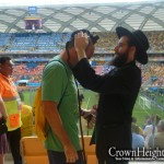 Picture of the Day: Tefilin at World Cup in the Amazon