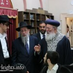 YG Melbourne Visited by Former Chief Rabbi