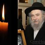 Boruch Dayan Hoemes: Rabbi Nachman Sudak, 78, OBM