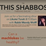 Shabbos at the Besht: A Healthy Argument?