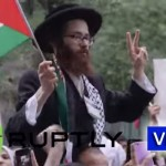 Neturei Karta Protests Alongside Hamas Supporters