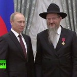 Russian President Honors Chief Rabbi