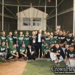 NYPD Beats Borough Park Shomrim at Baseball Game