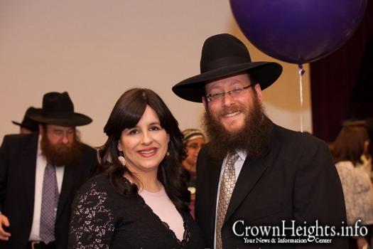 Rabbi Shimon and Rebbetzin Liba Andrusier