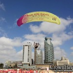 Shabbos Paraglide Returns to Tel Aviv Beaches