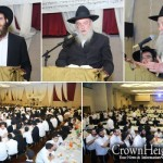 Tishrei Guests Welcomed with Banquet