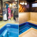 Mikvah Reopening Draws Crowd in Liberal Bastion