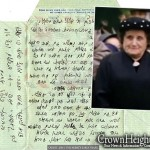 Newly Discovered by JEM: Historic Letter of Rebbetzin Chana