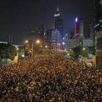Hong Kong Jews Cautious as Thousands Demonstrate