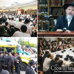 Guests Mark 50th Anniversary of Rebbe's Mother's Passing