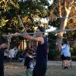 CSUN Students Pitch in to Build Sukkah