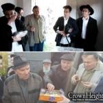 Pilgrims Visit Gravesite of Reb Aharon of Zhitomir
