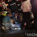 Eastern Parkway Crash Injures Pedestrian