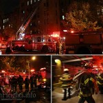 Fire Forces Residents to Flee Building
