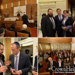 Dignitaries Join Chabad of Berlin to Celebrate New Year