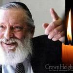 Boruch Dayan Hoemes: R. Nachman Meir Bernhard, 80, OBM