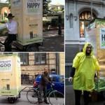 'Mitzvah Cycles' Bring Sukkos Cheer to City Streets