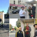 Hundreds of Montrealers Shake Lulav in 'Pedi-Sukkahs'
