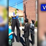 Video: World's Tallest Man Shakes the Lulav
