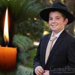 Boruch Dayan Hoemes: Mendel Cotlar, 13, OBM