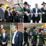 New Yeshiva Building Dedicated in Moscow