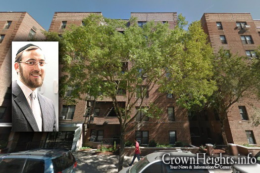 2425 Nostrand Avenue in Brooklyn. Inset: Lipa Lieberman.