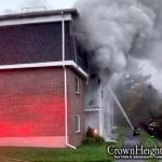 New Shluchim's Home Burns Down