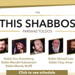 Shabbos at the Besht: Five Guest Speakers