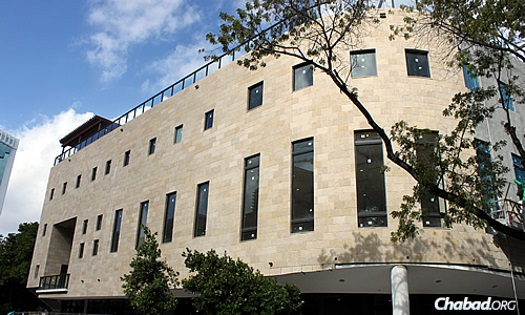 The new Rok Family Shul, Chabad Downtown Jewish Center in Miami offers 20,000 more square feet of space than its former site.