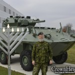 Picture of the Day: Canadian Army Celebrates Chanukah