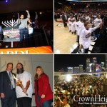 Electric Crowd at Miami Heat Menorah Lighting
