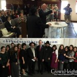 Florida Gov. Visits Chabad Center to Light Menorah