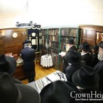 Photos: First Candle Lit in the Rebbes Room