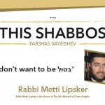 Shabbos at the Besht: 'I Don't Want to Be Botul'