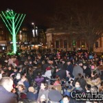 Thousands Brave Cold to Light London's Oldest Public Menorah