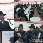 Rabbi Yossi Jacobson Leads Chicago Farbrengen