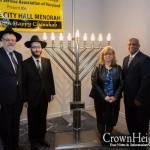 Baltimore City Hall Menorah Unveiled