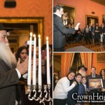 French Diplomat Hosts Chanukah Party