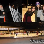 Mothers and Daughters Enjoy Menorah Skate