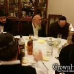 Mashpia Farbrengs with Shluchim at EU Headquarters