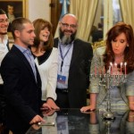 Argentina's President 'Adopts' Chabad Boy