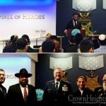 Menorah Lit in Pentagon's Hall of Heros