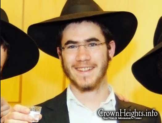 The stabbing victim, 22-year-old Levi Rosenblat.
